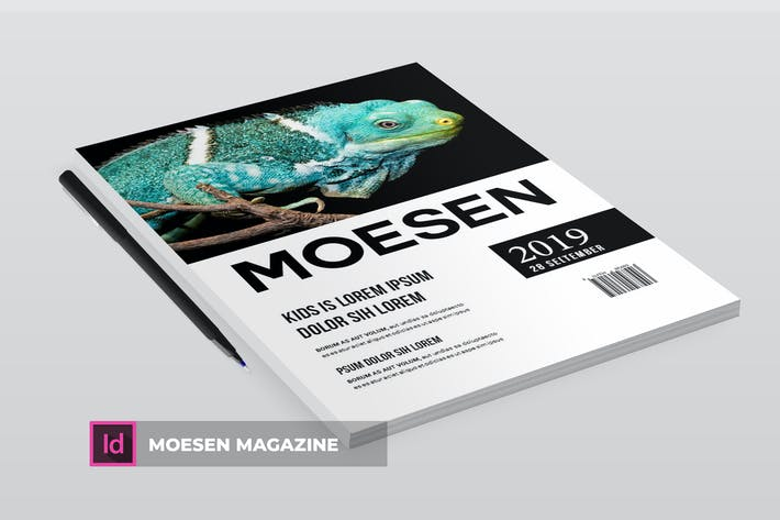 Thumbnail for MOESEN | Magazine Template