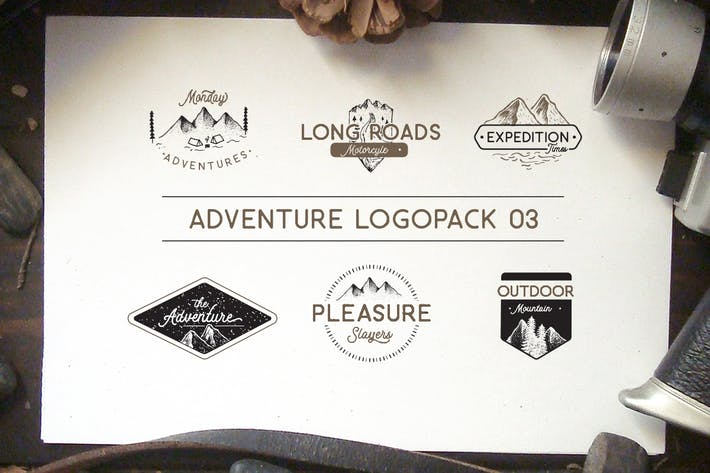 Thumbnail for Adventure Logopack Vol. 3