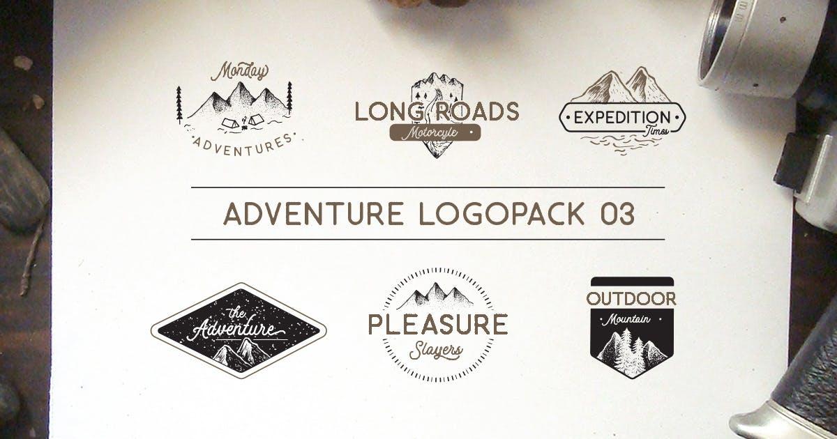 Download Adventure Logopack Vol. 3 by letterhend