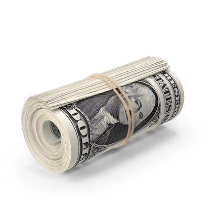 Roll of One Dollar Bills