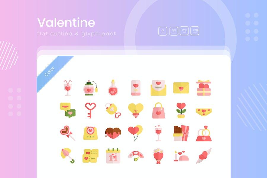 Valentinstag Icon