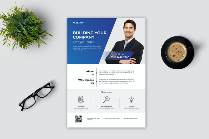 Cover Image For Business Flyer - Vol. 4