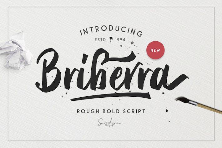 Thumbnail for Briberra - Rough Bold Script