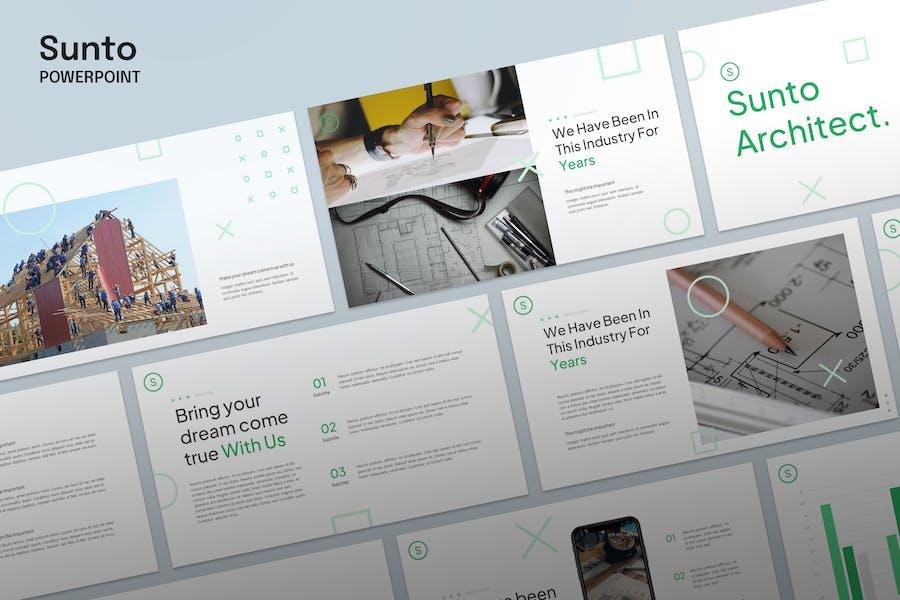 Sunto - Architecture Template Powerpoint