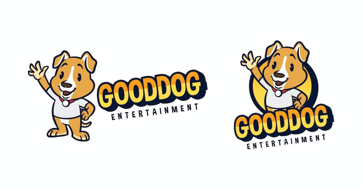 Download Cartoon Friendly Dog Mascot Character Logo by Suhandi