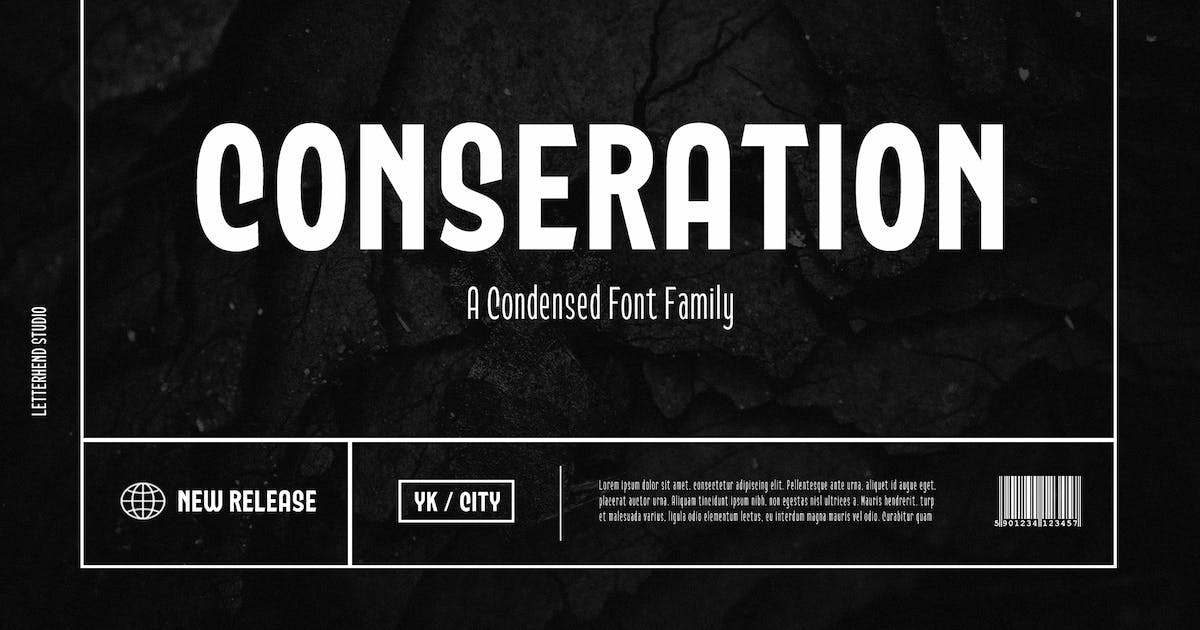 Download Conseration Family - 5 styles by letterhend