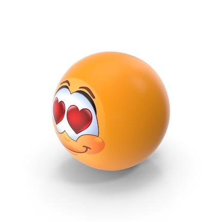 Глаза сердца Emoji
