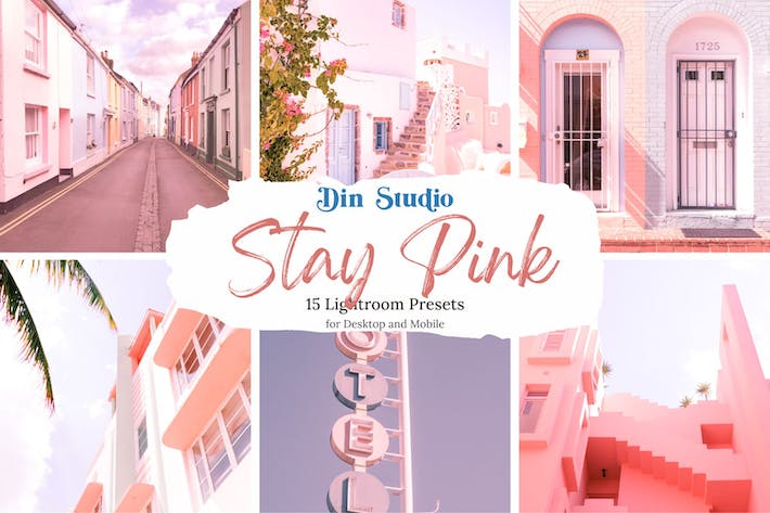 Thumbnail for Stay Pink Lightroom Presets