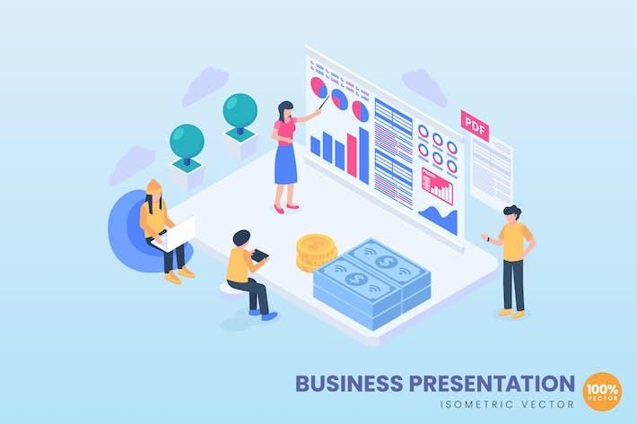 Thumbnail for Business Presentation Concept Illustration