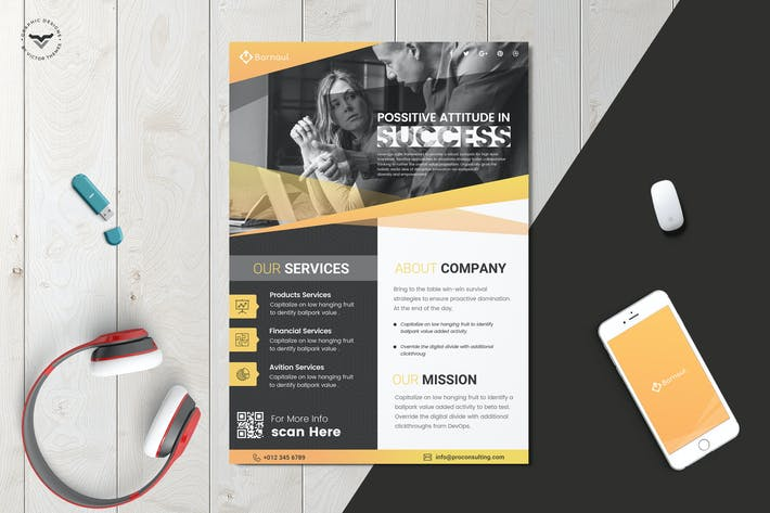Cover Image For Business Flyer Template