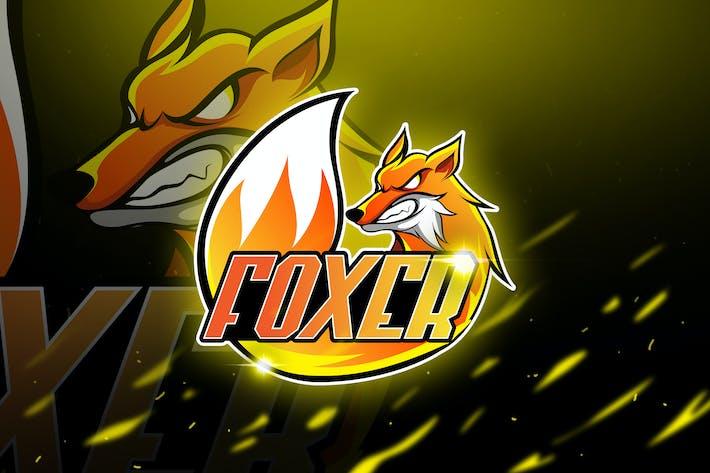Thumbnail for Foxer - Mascot & Logo Esport