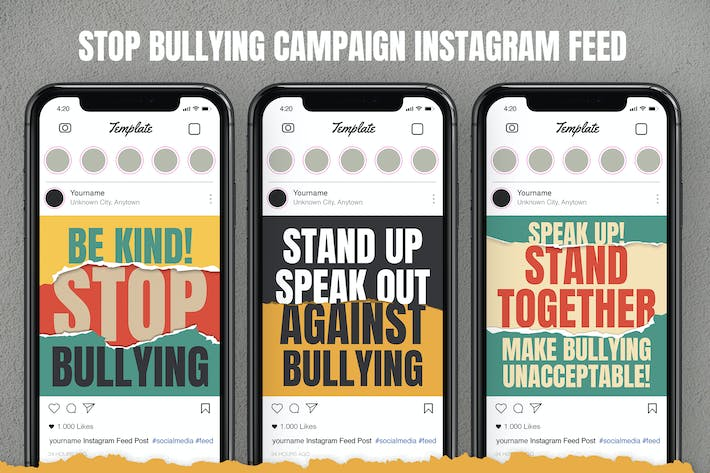 Thumbnail for Stop Bullying Instagram Feed
