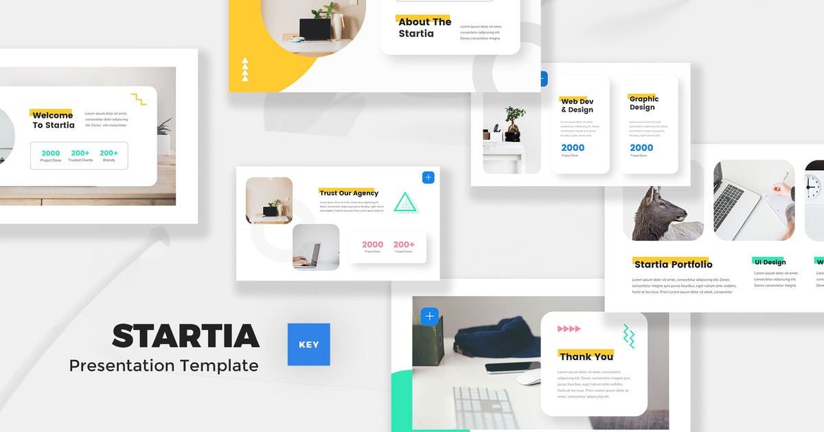 Download StartUp Keynote Template by StringLabs