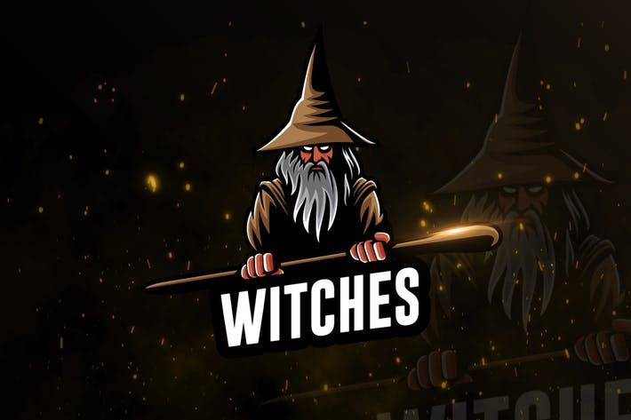 Thumbnail for Witches Team eSports Gaming Logo