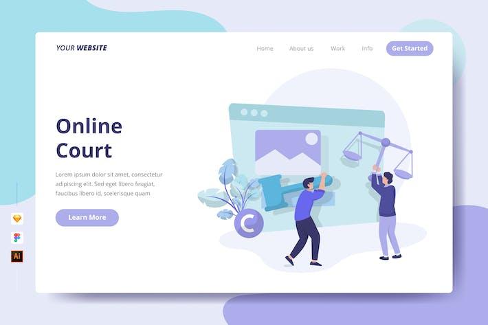 Thumbnail for Онлайн суд - Landing Page
