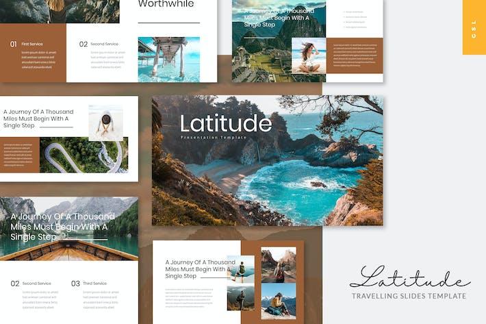 Thumbnail for Latitude - Travelling Google Slides Template