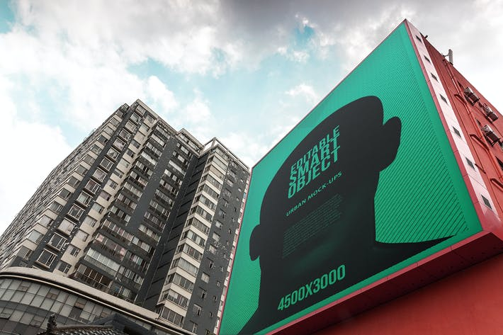 Thumbnail for Poster Urbano/Mockup de Billboard - Edição Enorme #5