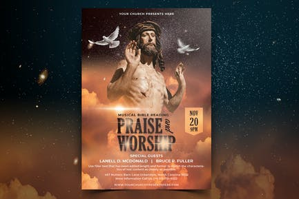 Church Flyer Vol.02