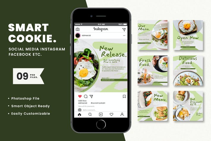 Thumbnail for Smart Cookie Social Media Kit