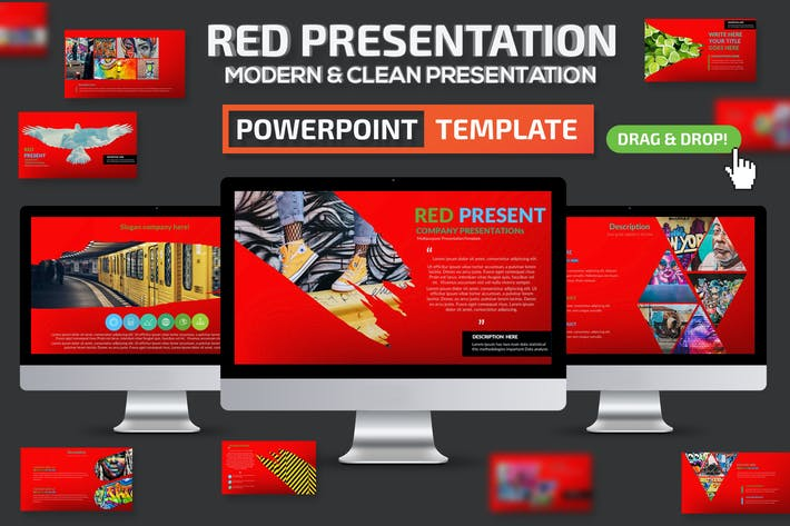 Red Powerpoint Presentation