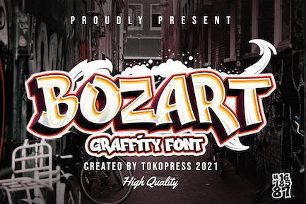 BOZART - Fuente Graffiti