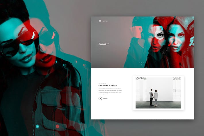 Thumbnail for Wythe - Creative Portfolio Theme
