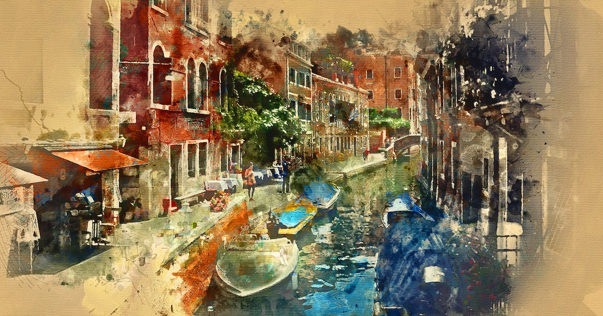 Download Watercolor Photoshop Action by sevenstyles