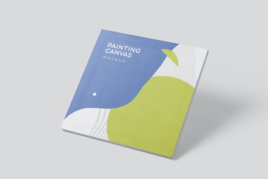Square Painting Canvas Mockups