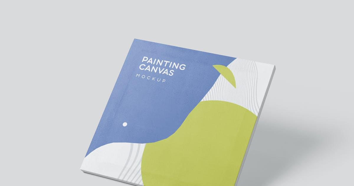 Download Square Painting Canvas Mockups by GfxFoundry