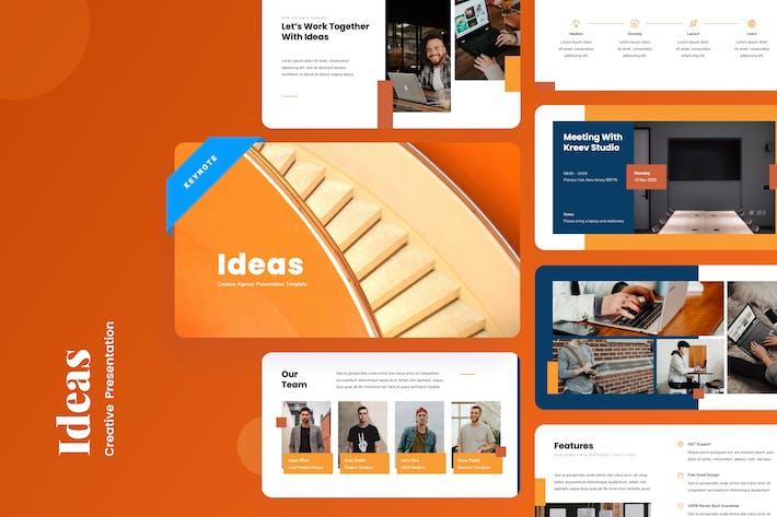 Идеи - Творческая презентация