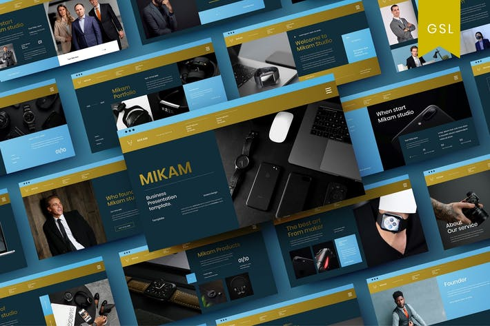 Mikam - Business Google Slide Template