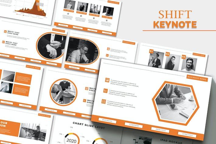 Thumbnail for SHIFT - Шаблон ключевых заметок бизнеса