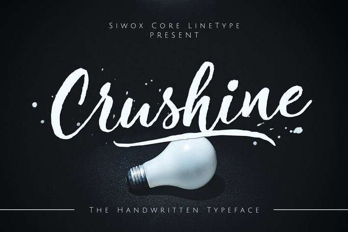 Thumbnail for Crushine Wet Brush + Webfonts