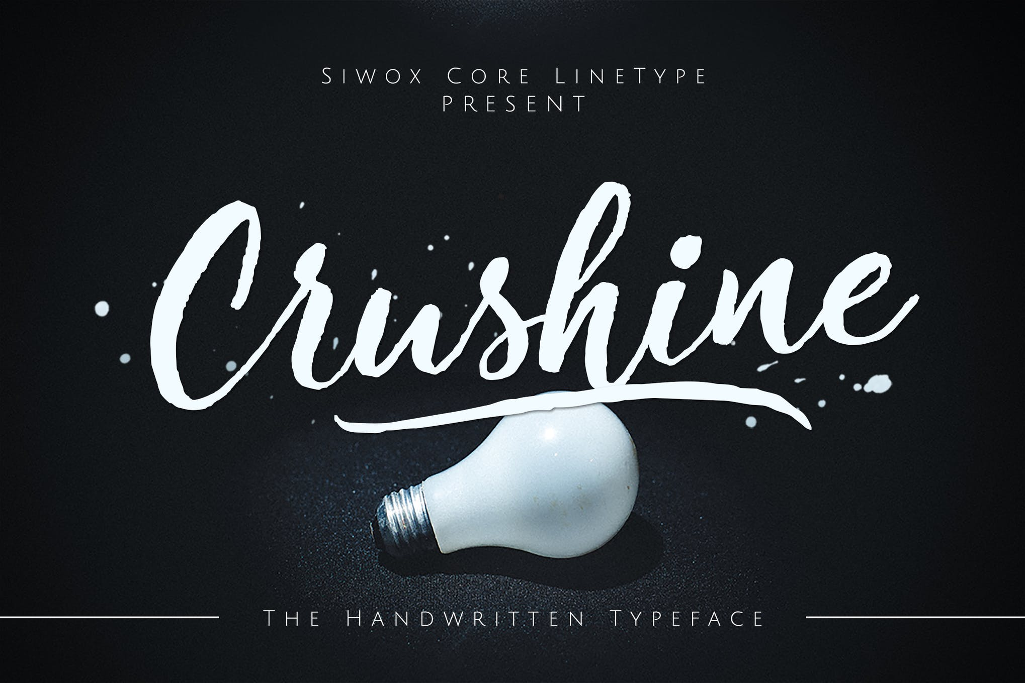 Crushine Wet Brush + Webfonts