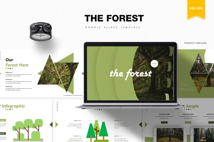 Thumbnail for The Forest | Google Slides Template