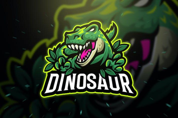 Cover Image For Dinosaur Trex Sport and Esport Logo