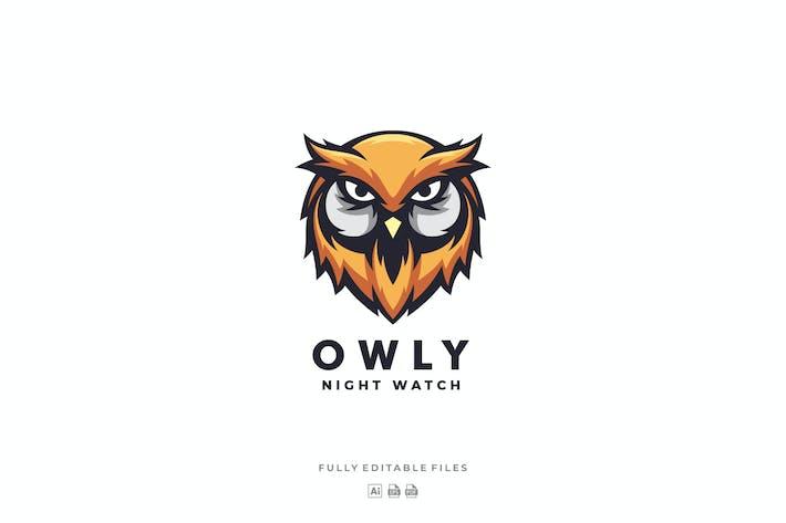 Thumbnail for Owl Head Mascot Logo