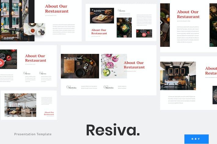 Resiva - Restaurant Keynote Template