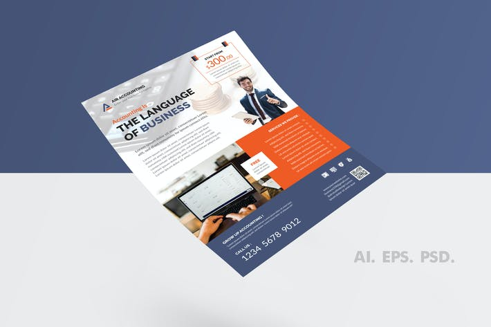 Thumbnail for Accounting Flyer Design