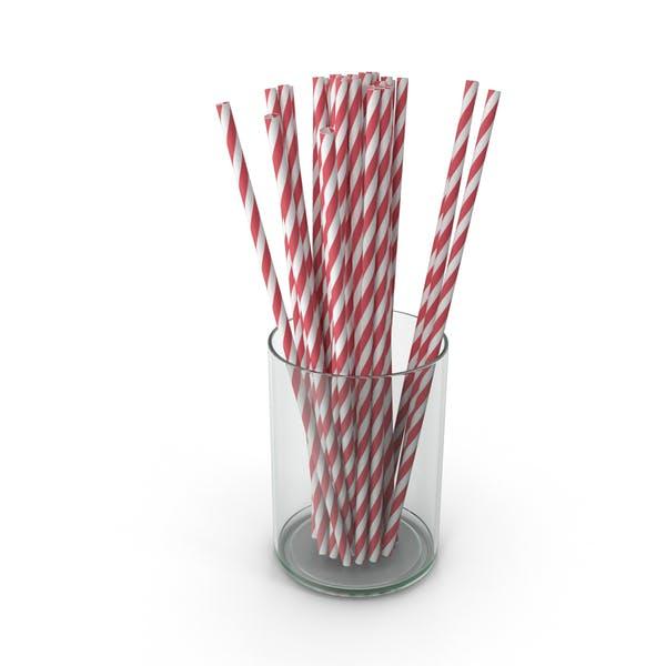 Red Drinking Straws