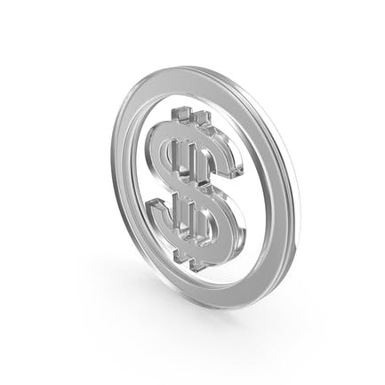 Dollar Glass Symbol