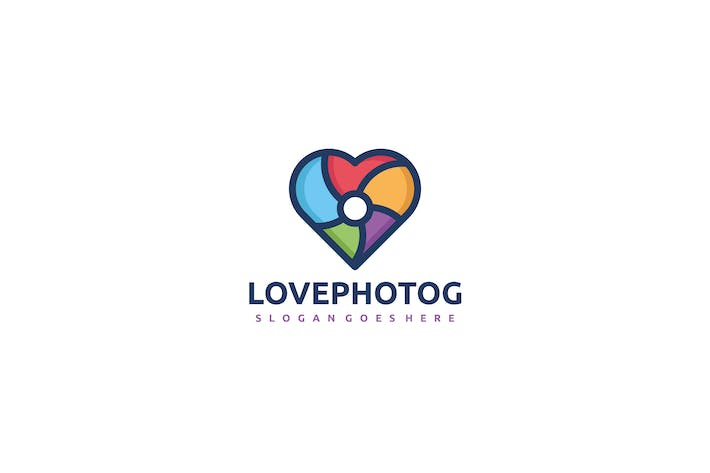 Thumbnail for Love Photography Logo