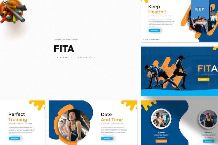 Thumbnail for Fita | Keynote Template