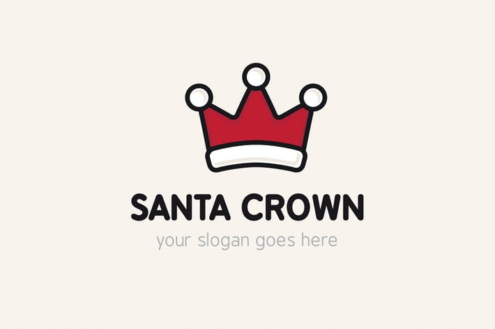 Santa Crown Logo