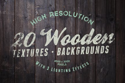 20 Wood Textures / Backgrounds