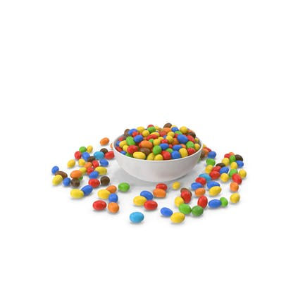 Peanuts Candy In Bowl