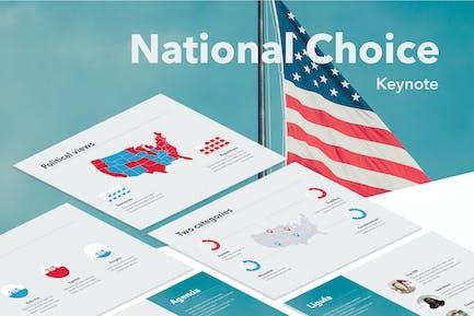 National Choice Keynote Template