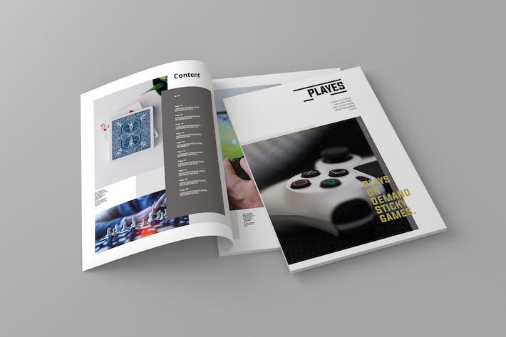 Thumbnail for Jeux - Modèle Magazine