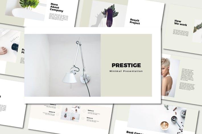 Thumbnail for Prestige - Google Slide