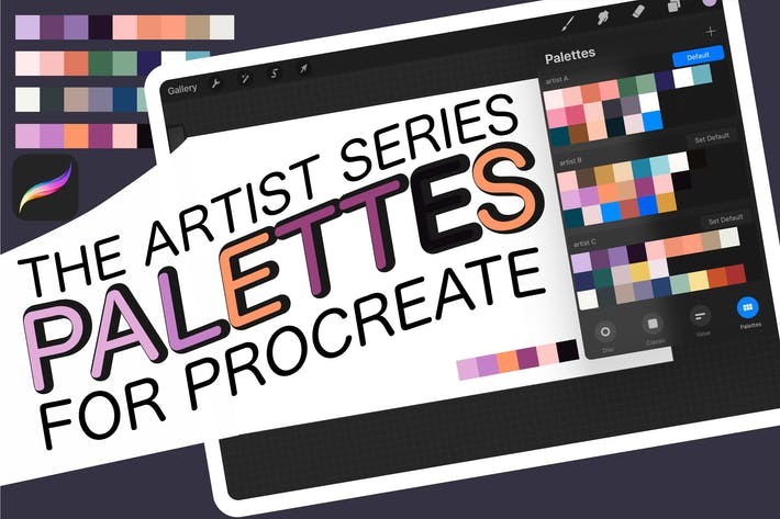 Thumbnail for Procreate swatches